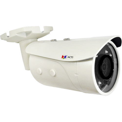 ACTi E39 2MP Outdoor Day/Night Network Bullet Camera with Night Vision and Extreme WDR