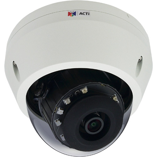 ACTi E710 3MP Outdoor Network Dome Camera with Night Vision