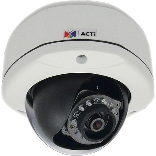 ACTi E78 2MP Outdoor PoE Network Dome Camera with 3.1mm Fixed Focal Lens