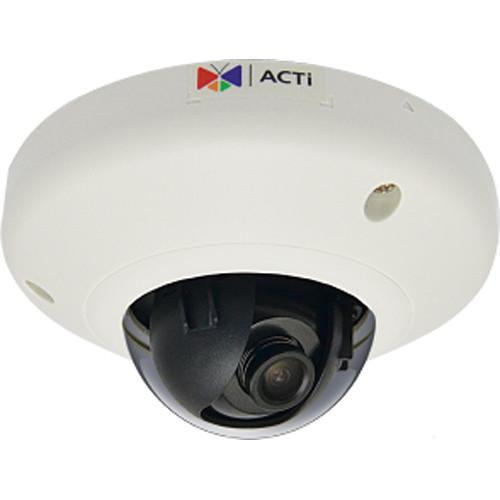 ACTi E911 3MP Network Mini Dome Camera with Extreme WDR