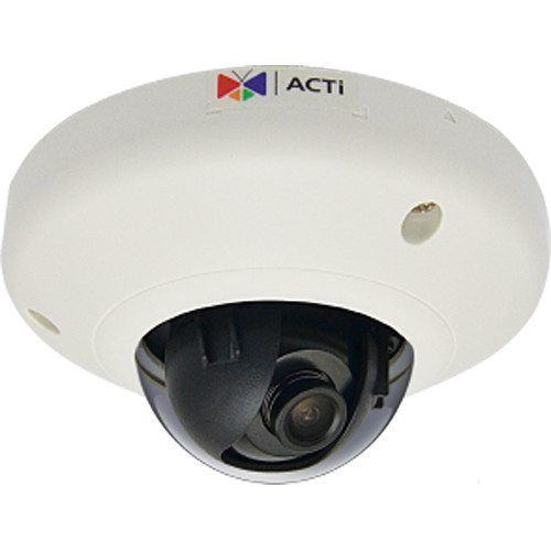 ACTi E912 5MP Vandal-Resistant Network Mini Dome Camera with 2.1mm Lens