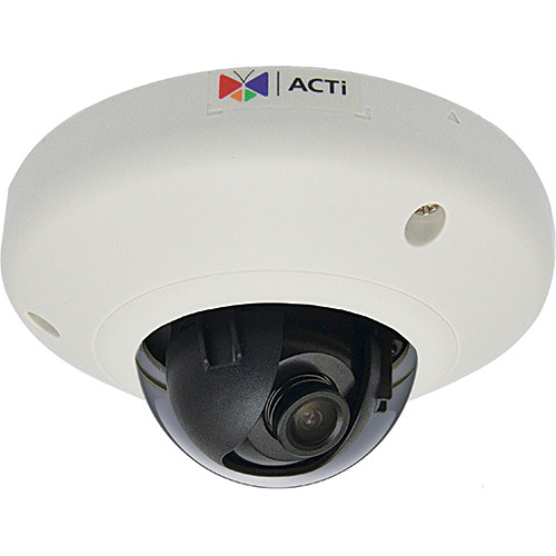 ACTi E913 3MP IP Indoor Mini Dome Camera with Superior WDR and 1.9mm Lens
