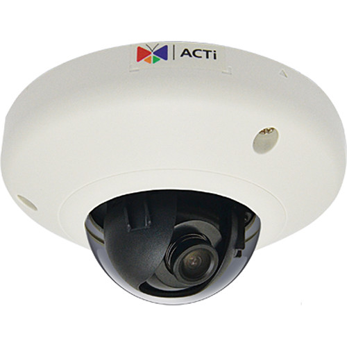 ACTi E918 3MP Outdoor Network Dome Camera