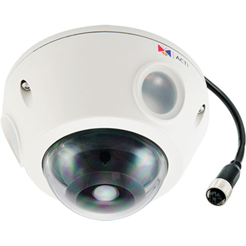 ACTi E924M 5MP IR Day/Night Outdoor IP Dome Camera with 1-Way Audio Support & 2.93mm Lens