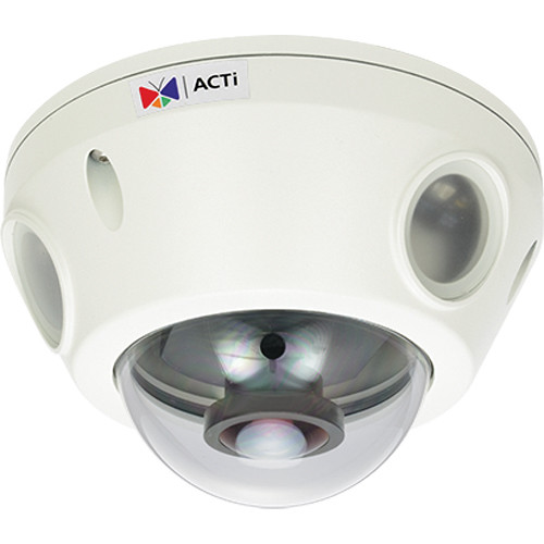ACTi 3MP Outdoor Mini Dome Camera with Night Vision