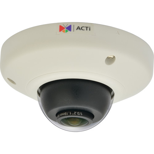 ACTi E98 10MP Indoor Mini Fisheye Dome Camera