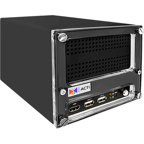 ACTi 4-Channel 8MP/12MP Desktop Standalone PoE NVR with 1TB HDD