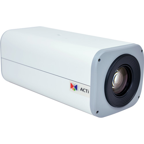 ACTi I25 2MP Day/Night IP Box Camera with SLLS, Extreme WDR, and 30x Zoom Lens