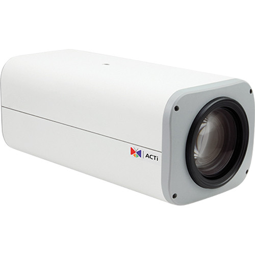 ACTi I28 2MP IP Day/Night PTZ Box Camera with PoE, Heater, and 4.5 to 148.5mm Lens
