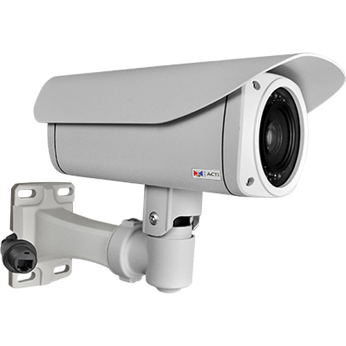 ACTi I47 4MP Weatherproof Day/Night IR PTZ IP Outdoor Bullet Camera with PoE, Heater, and 4.3 to 129mm Lens