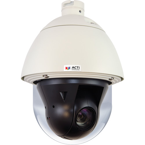 ACTi I910 4MP Outdoor Day/Night Vandal Resistant PoE Speed Dome Camera with 4.5 to 148.5mm Varifocal Lens
