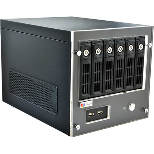 ACTi INR-340 64-Channel 6-Bay RAID Tower Standalone NVR
