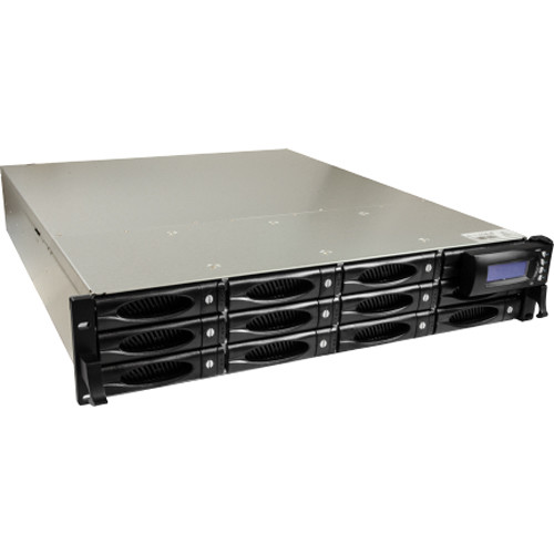 ACTi INR-440 200-Channel 12-Bay Rackmount Standalone NVR with RAID and Redundant Power Supply