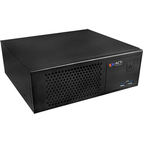 ACTi Standalone IVS 1-Bay NVR with Video Analytics