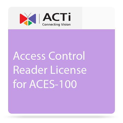 ACTi LACS1000 Access Control Reader License for ACES-100