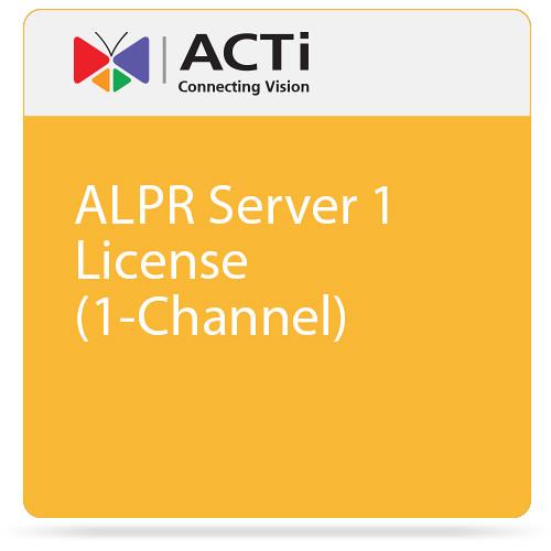 ACTi ALPR Server 1 License (1-Channel)