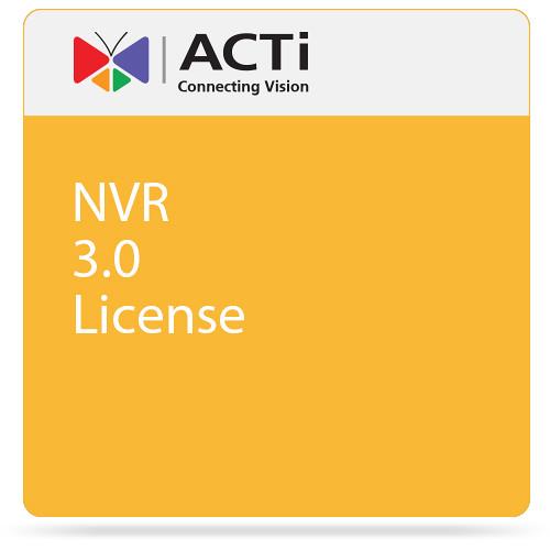 ACTi NVR 3.0 License