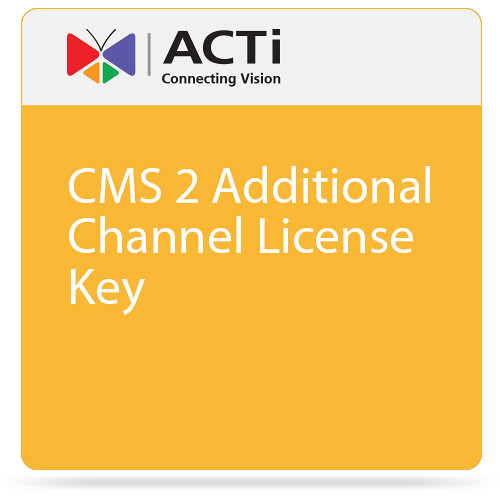 ACTi CMS 2 Additional Channel License Key