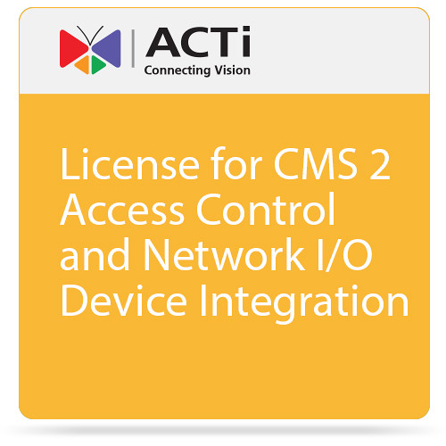 ACTi LEXD2000 Access Control and Network I/O Device Integration License for CMS 2