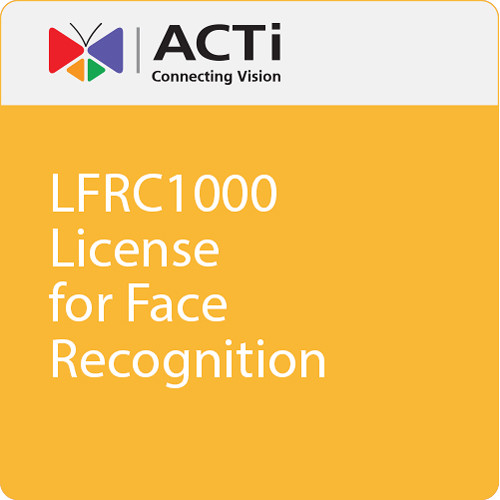 ACTi LFRC1000 License for Face Recognition