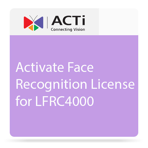 ACTi LFRC4000 Face Recognition 4 License