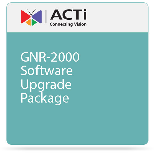 ACTi GNR-2000 Software Upgrade Package