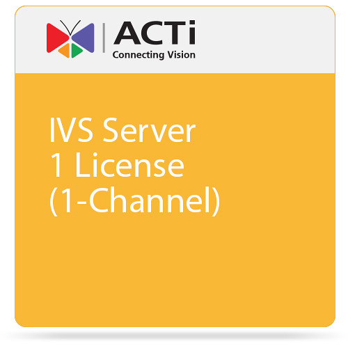 ACTi IVS Server 1 License (1-Channel)