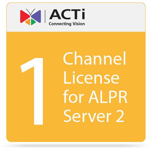 ACTi 1-Channel License for ALPR Server 2