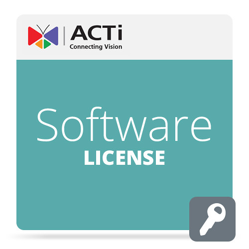 ACTi LMAS4000 Single License for Select Systems (Permanent, Download)