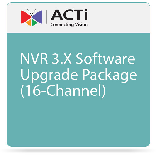 ACTi NVR 3.X Software Upgrade Package (16-Channel)