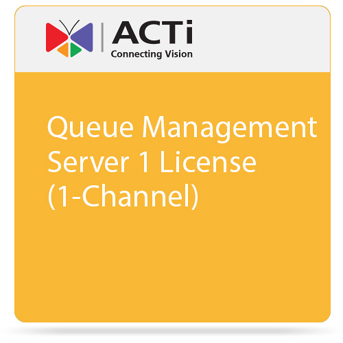 ACTi Queue Management Server 1 License (1-Channel)