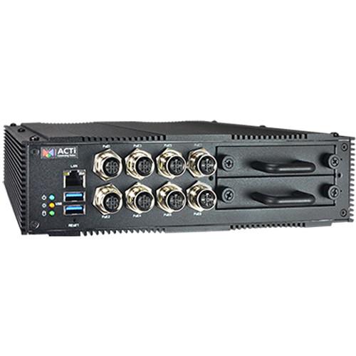 ACTi MNR-121P 9-Channel 2-Bay Transportation Standalone NVR