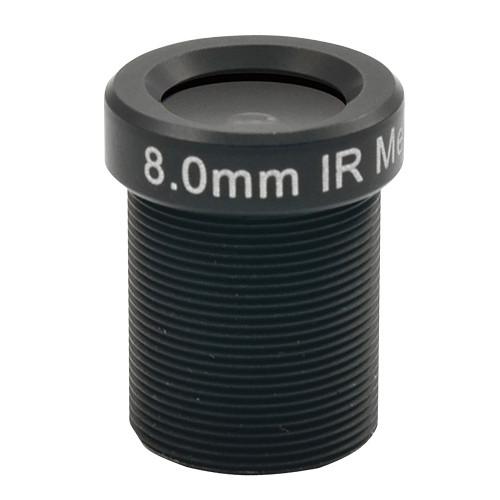 ACTi PLEN-4103 Board Mount f8.0mm F1.8 Day / Night Fixed Focus Lens
