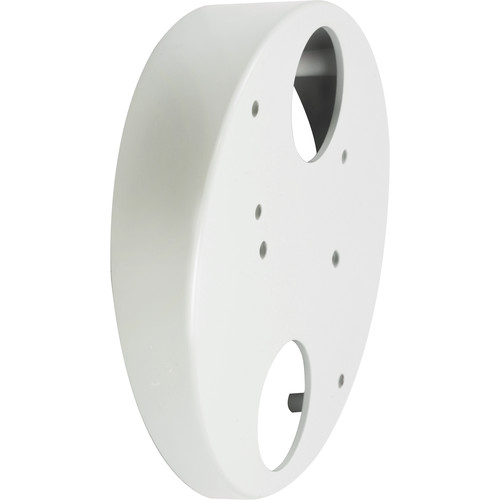 ACTi Tilted Wall Mount for I71 Outdoor Hemispheric Camera (White)