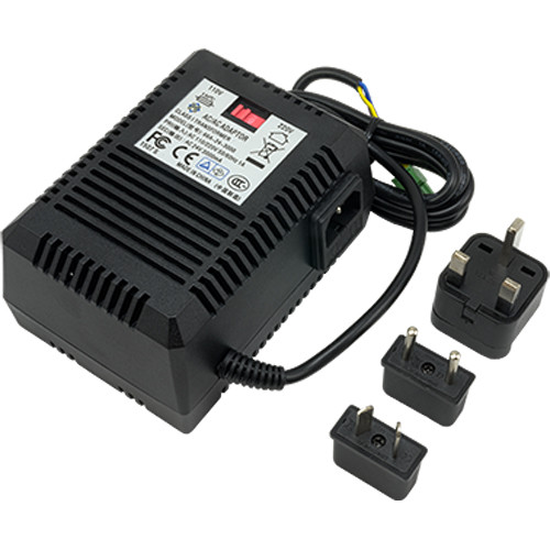 ACTi 100-240 VAC Power Adapter with Universal Connectors for PLED-0203-0205