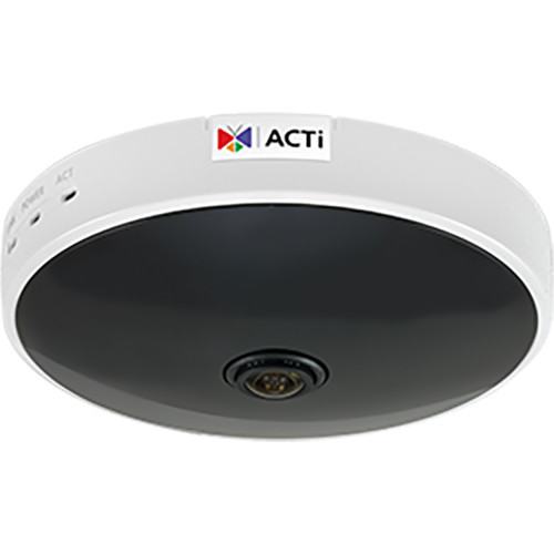 ACTi 1MP Network Mini Dome Camera with 2.5mm Fixed Lens, Night Vision, & Analytics