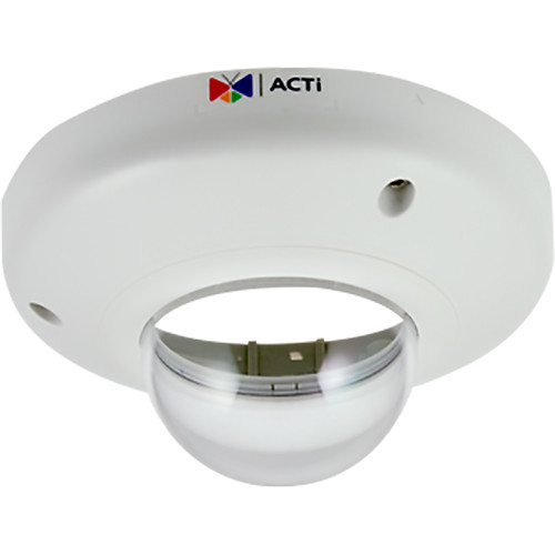 ACTi ACR70150002 Dome Cover Housing with Transparent Cover for D5x and E5x Dome Cameras