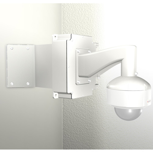 ACTi SMAX-0175 Corner Mount with Junction Box, Heavy Duty Wall Mount, & PTZ Mount Kit for I91, I92, & KCM-8111 Cameras