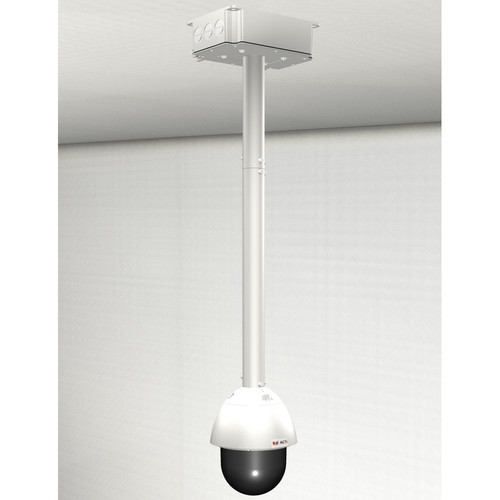 ACTi Junction Box with Pendant Mount & Extension Tube for Select Outdoor PTZ/Speed Dome Cameras