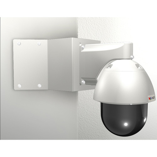 ACTi Corner Mount with PTZ Wall Mount for Outdoor PTZ/Speed Dome Cameras