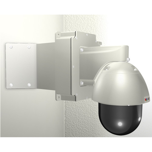 ACTi SMAX-0227 Corner Mount with Junction Box & PTZ Wall Mount for Outdoor PTZ/Speed Dome Cameras