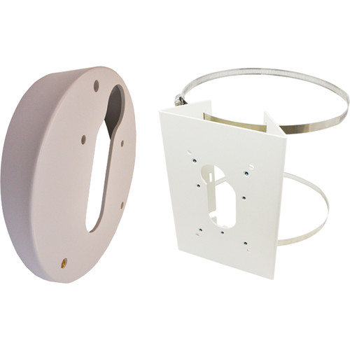 ACTi PMAX-0503 Pole Mount & PMAX-0320 Tilted Wall Mount Bundle for B511 Dome Camera