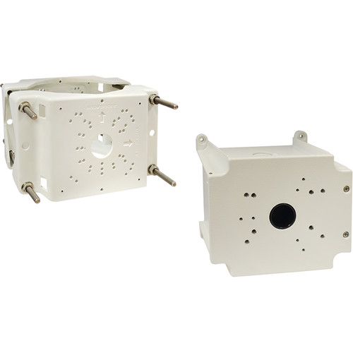 ACTi PMAX-0508 Pole Mount with PMAX-0704 Junction Box for Select Bullet Cameras