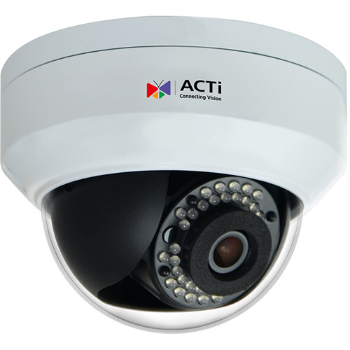 ACTi Z91 4MP Outdoor Network Mini Dome Camera with Night Vision