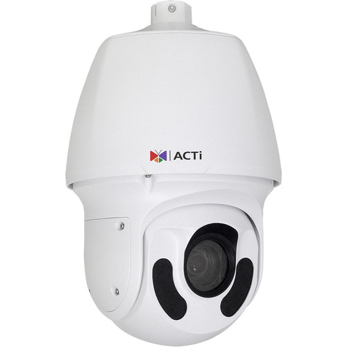 ACTi 2MP 20x Optical Zoom Speed Dome Camera with 5.2-104mm Varifocal Lens and Night Vision