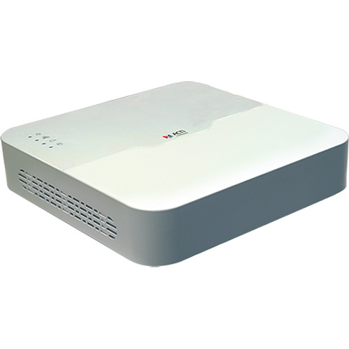 ACTi INR-460 4-Channel 8MP Standalone PoE NVR (No HDD)
