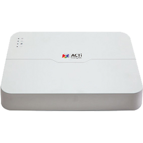ACTi 8-Channel 8MP Standalone PoE NVR (No HDD)