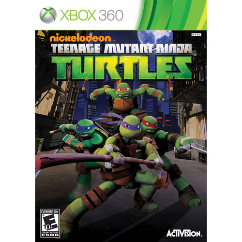 Activision Teenage Mutant Ninja Turtles (Xbox 360)