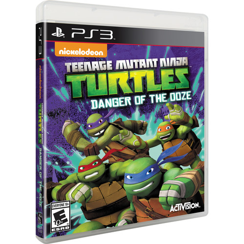 Activision Teenage Mutant Ninja Turtles: Danger of the Ooze (PS3)