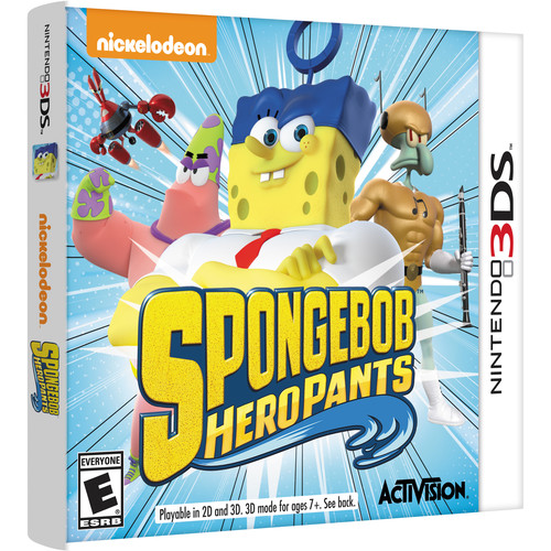 Activision SpongeBob HeroPants (Nintendo 3DS)